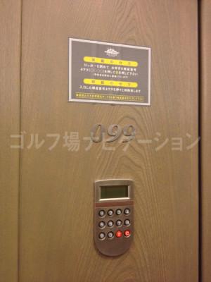 鍵は不要の暗証番号タイプのロッカー