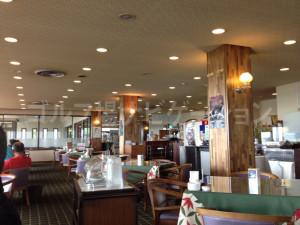 レストランはPGM共通メニューがありました。他には、島根牛のステーキも!