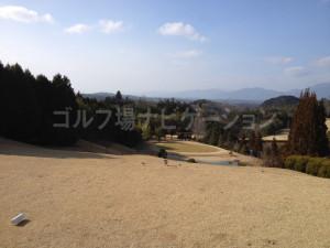 冬の日本原カントリー