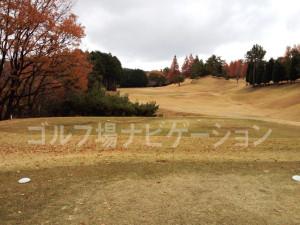 箕面ゴルフ倶楽部_インコース_18番ティグランド