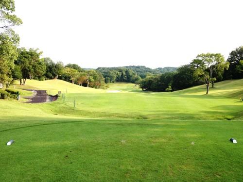 霞ゴルフクラブ10番ホール