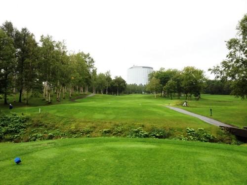 ニセコビレッジゴルフコース18番ホール