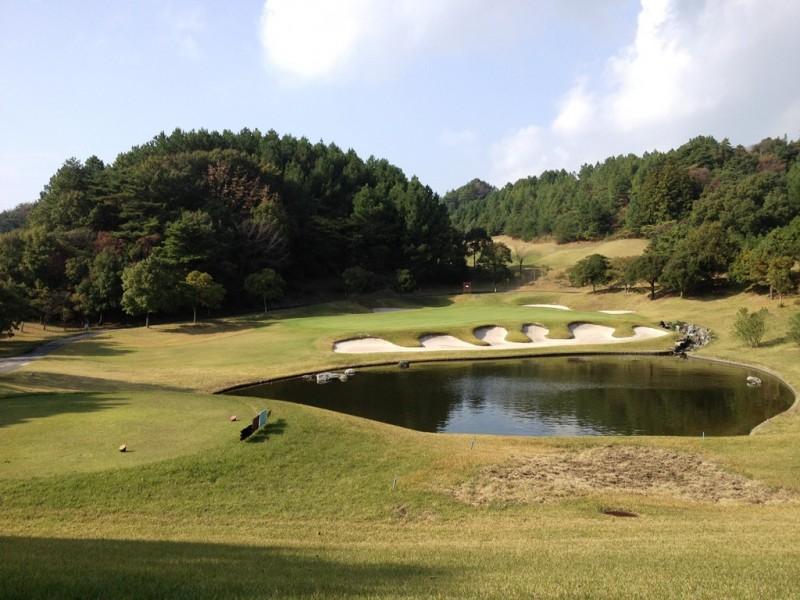 有田東急ゴルフクラブBlueコース4番ショートホール