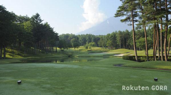 鳴沢ゴルフ倶楽部 8番ショートホール