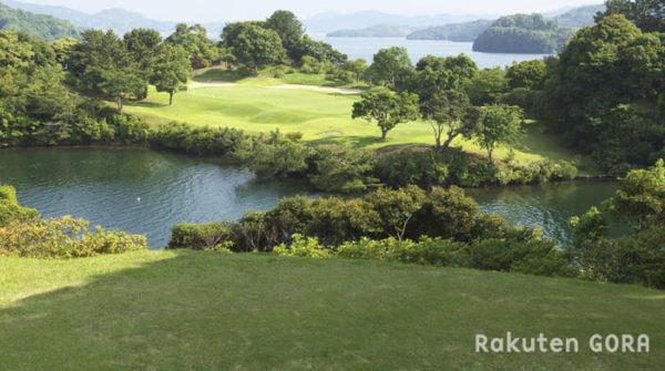 長崎 パサージュ琴海アイランドゴルフクラブ 3番 海越え ショートホール