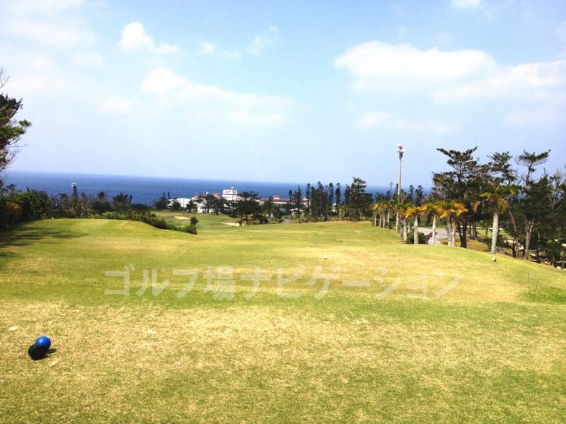 美らオーチャードゴルフ倶楽部 ユニマット沖縄GC 18番ホール