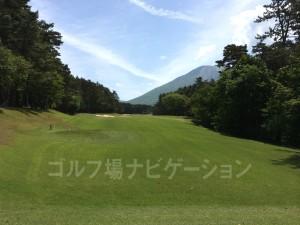 天気が良ければ大山が非常に美しい。