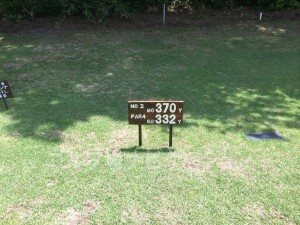 大山ゴルフクラブ2番ミドルホール