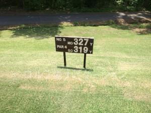 大山ゴルフクラブ5番ミドルホール