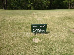 グランディ那須白河ゴルフクラブ EASTコース 4番ロングホール