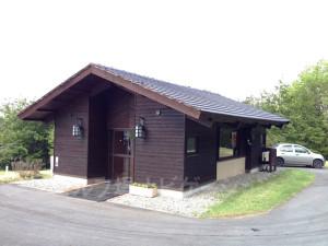 グランディ那須白河ゴルフクラブ EASTコースの茶店(トイレあり)