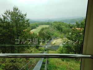 練習場への道7~スロープカーからの景色を楽しみます。