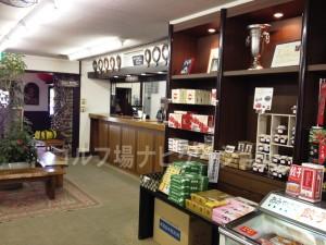 フロントの近くにお土産がたくさん売られています。