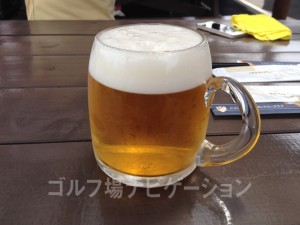ビール大。おっきいです(笑)