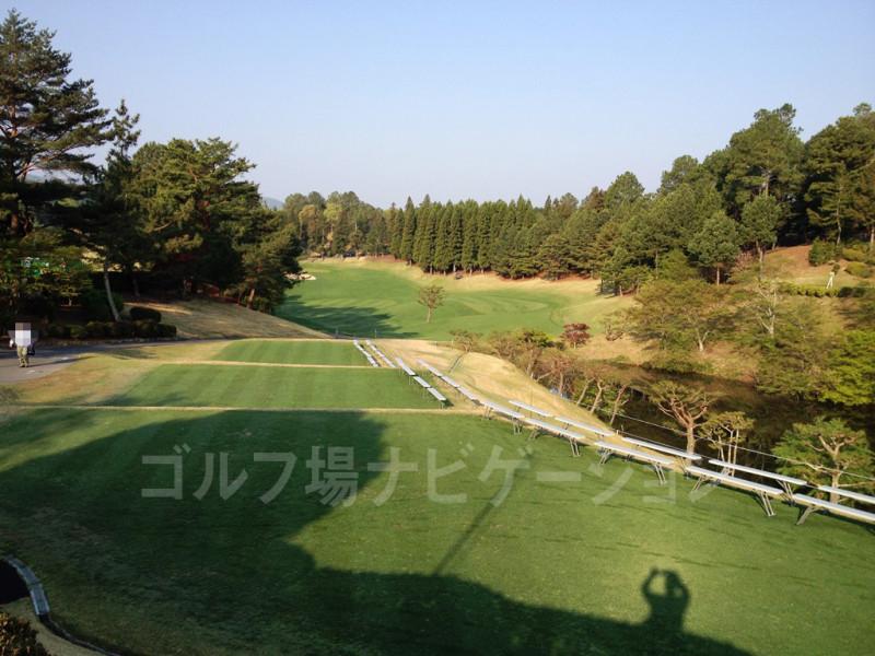 山の原ゴルフクラブ 山の原コース1番ホール