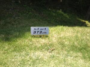 サングレートゴルフ倶楽部 3番ミドルホール