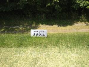 サングレートゴルフ倶楽部 6番ミドルホール