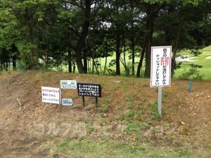 富士OGMゴルフクラブ小野コース 西コース4番ミドルホール フロントティ355ヤード