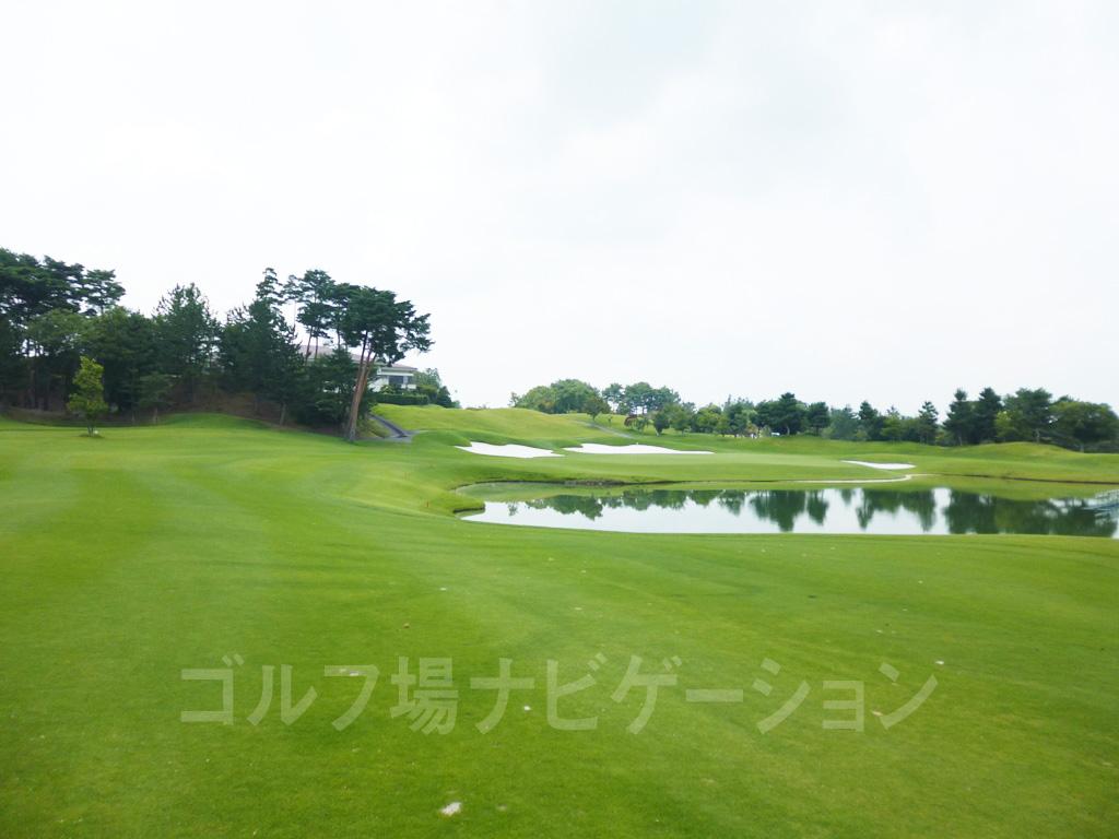 兵庫の名門ABCゴルフ倶楽部 最終18番ホール