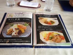 夏の冷やし麺フェア