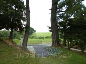 7番ティグランドへ向かう道からの景観