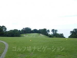 特設ティからの景観。大阪湾が美しい。