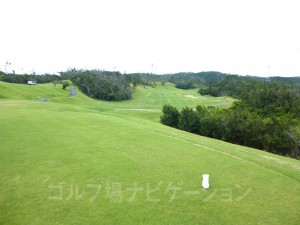 ジ・アッタテラスゴルフリゾート INコース17番レギュラティからの眺め