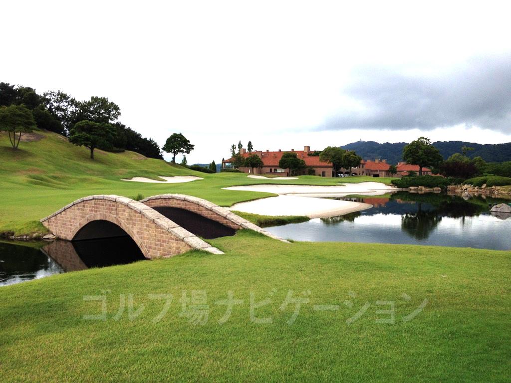 東児が丘マリンヒルズゴルフクラブヨーロッパの庭園のような美しさ。