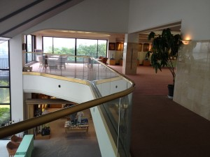 2階階段付近からの眺め