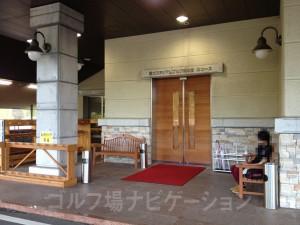 富士スタジアム北コースの玄関