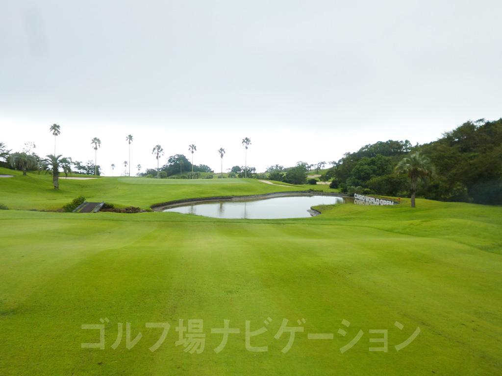 Kochi黒潮カントリークラブ 高知名門ゴルフ場巡り 太平洋8番ホール