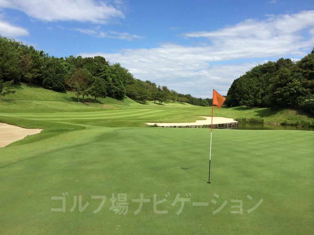 センチュリー三木ゴルフ倶楽部 INコース 12番ホール