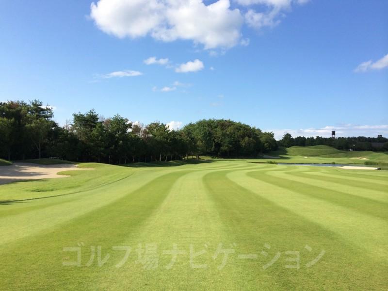 センチュリー三木ゴルフ倶楽部 IN最終18ホール