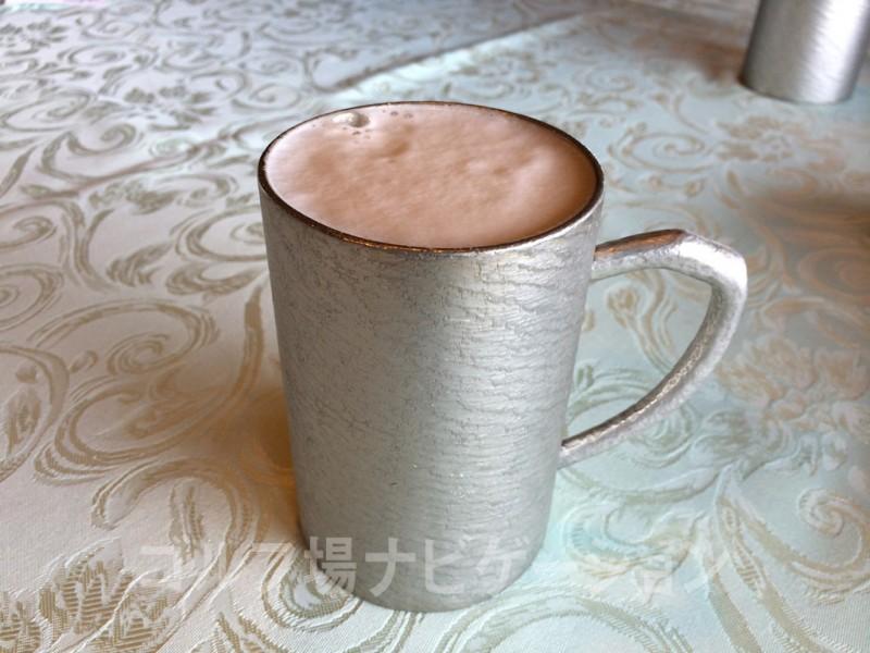 センチュリー三木GC ランチ 錫製ジョッキ 生ビール