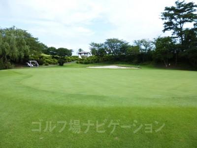 面積の広いグリーン