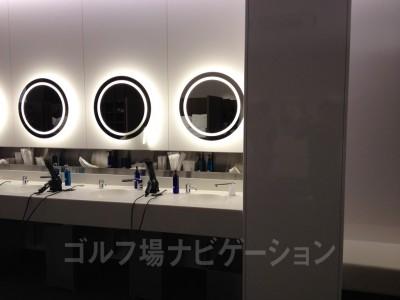 洗面台もお洒落で清潔感あります。