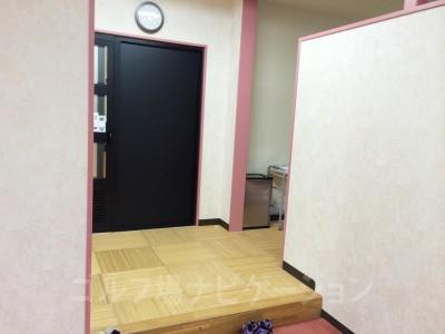女性のお風呂場、入口です。
