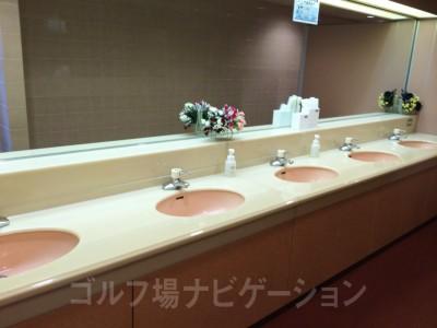 トイレ内洗面台