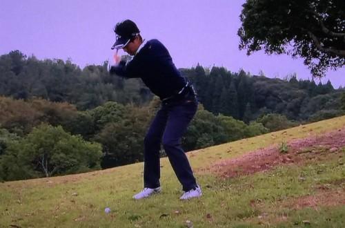 石川遼のトラブルショット2