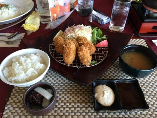 岡山県産カキフライ膳