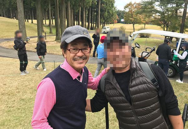三井住友VISA太平洋マスターズ プロアマ 芸能人