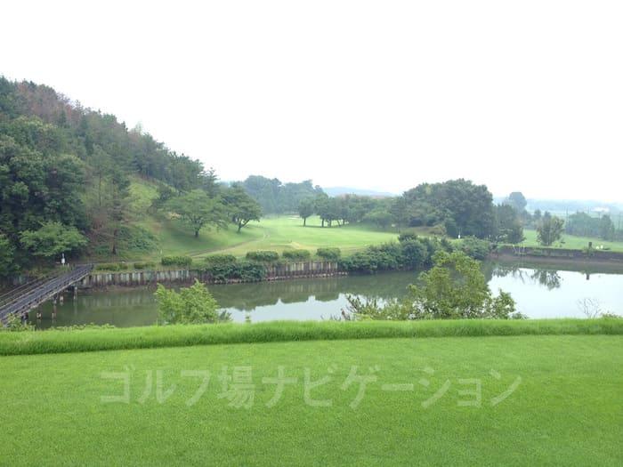 播州東洋ゴルフ倶楽部 INコース 18番ホール