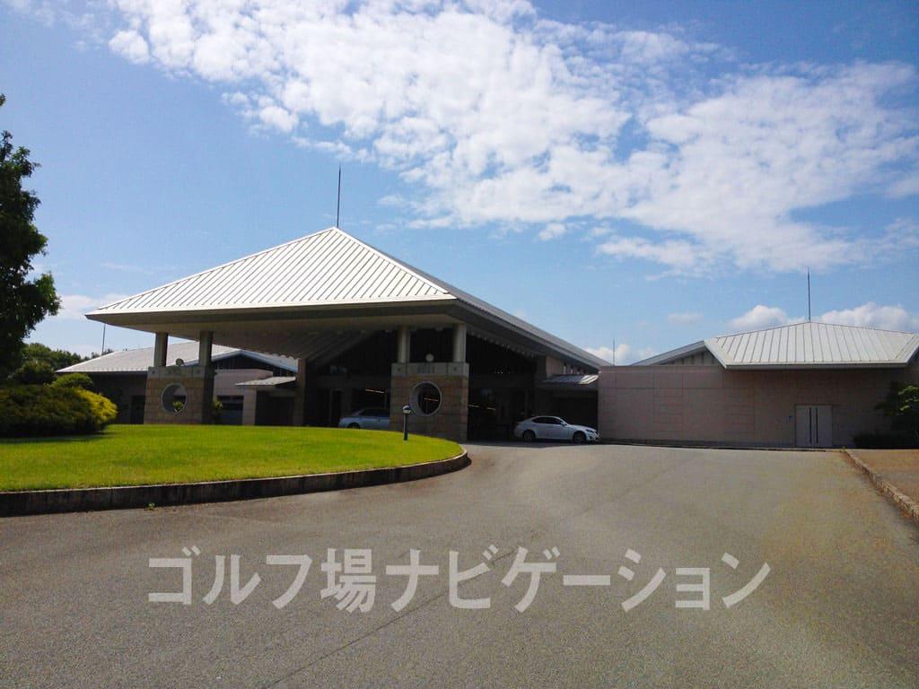 富士小野ゴルフクラブ(旧:富士OGMゴルフクラブ小野コース クラブハウス 外観