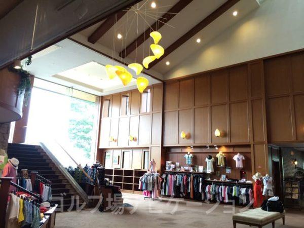 京都 かさぎゴルフ倶楽部 クラブハウス ショップ