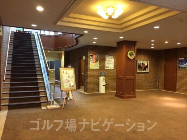 京都 かさぎゴルフ倶楽部 クラブハウス 内観