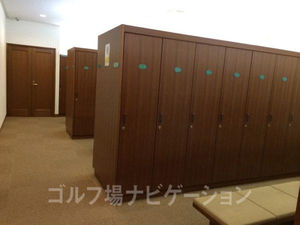 京都 かさぎゴルフ倶楽部 女性ロッカールーム