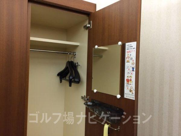 京都 かさぎゴルフ倶楽部 女性ロッカー
