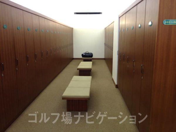 京都 かさぎゴルフ倶楽部 ロッカールーム