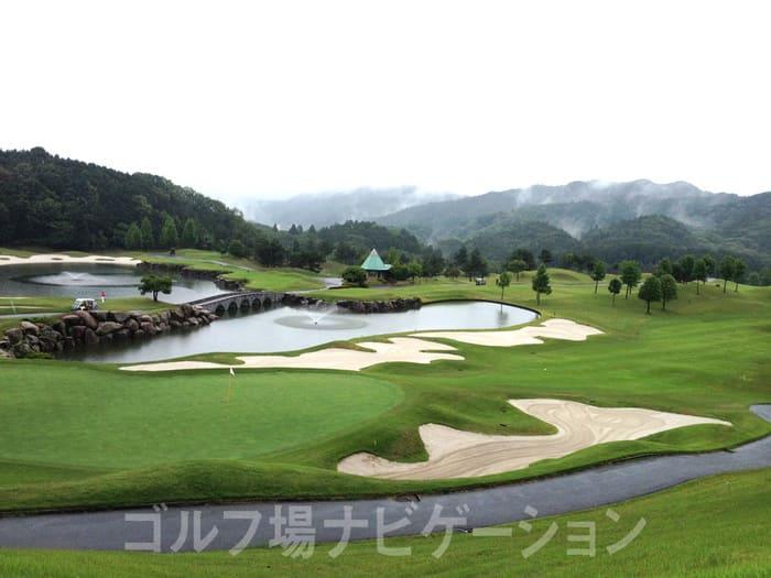 京都 かさぎゴルフ倶楽部 景観