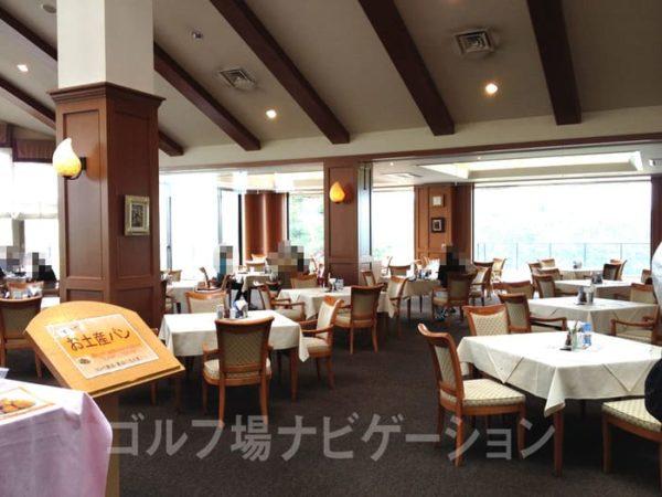 京都 かさぎゴルフ倶楽部 レストラン